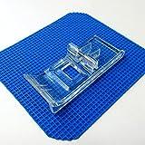 Pied de reliure transparent avec guide 796402004 pour Janome 900CPX, Cover Pro 1000CPX, 2000CPX